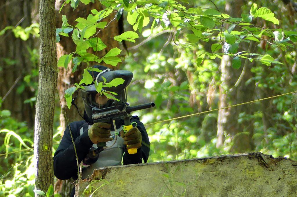 paintball games woodsball